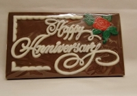Happy Anniversary Chocolate Card
