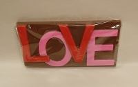 3D LOVE Chocolate Card