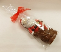 Red Chocolate Stand-up Santa