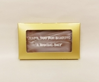 Thank you for sharing chocolate buisness card