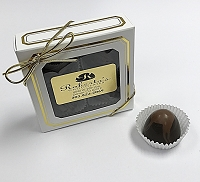 Dark Chocolate Hazelnut 4 Piece Truffles