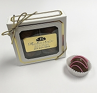 Milk Chocolate Raspberry 4 Piece Truffles