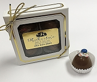 Milk Birthday Cake 4  Piece Truffles