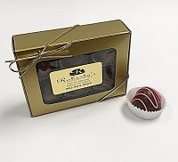 Milk Chocolate Raspberry 6 Piece Truffles