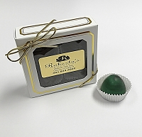 Dark Chocolate Mint 4 Piece Mint Truffle