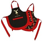Chocolate Moose Apron-Adult