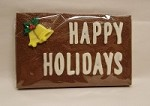 Happy Holidays Chocolate Card