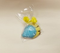 Blue and Yellow Chocolate Fish