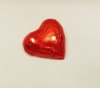 Chocolate Foiled Heart