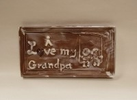 I Love My Grandpa Chocolate Card