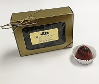 Dark Chocolate Habanero 6 Piece Truffle