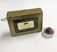 Dark Chocolate Raspberry 6 Piece Truffle