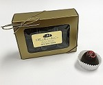 Dark Chocolate Black Forest 6 Piece Truffle