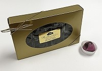 Dark Chocolate Raspberry 12 Piece Truffle