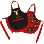 Children's Chocolate Moose Apron