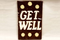 Get Well Chocolate Card